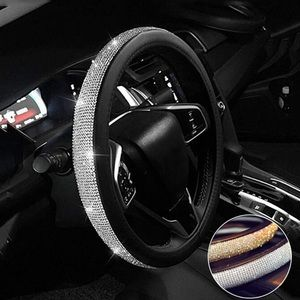 EUC Silver iced out steering wheel cover!